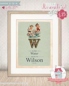 House of Jack Personalised Art, Personalised Gifts and Graphic Design | Babies and Children
