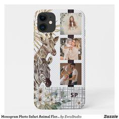 Iphone 11, Apple Iphone, Iphone Cases, Teal, Purple, Pink, Safari Animals, Plastic Case, Mint Green