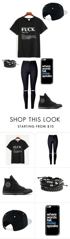 """Untitled #147"" by darksoul7 on Polyvore featuring Converse, NIKE and Casetify"