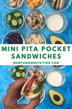 Whether you are packing a lunchbox or preparing a simple lunch at home, your child will love these Mini Pita Pocket Sandwiches. Have one for a snack, or a few for a fresh, healthy meal. Pita Pockets, Perfect Portions, Healthy School Lunches, Toddler Lunches, Nutrition Articles, Eat Lunch, Grilled Meat, Sandwiches, Healthy Recipes