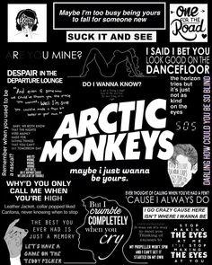 New Quotes Music Lyrics Arctic Monkeys Ideas Arctic Monkeys Poster, Letras Arctic Monkeys, Arctic Monkeys Tattoo, 505 Arctic Monkeys, Arctic Monkeys Lyrics, Arctic Monkeys Wallpaper, Monkey Wallpaper, Do I Wanna Know, The Last Shadow Puppets