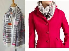Kate Spade - Girl About Town Scarf <3 <3 <3