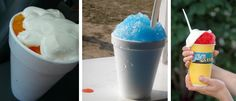 Snowballs: A Baltimore Tradition. My favorite was spearmint with marshmallow topping! Icy D's Yo!
