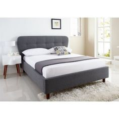 Sleep Emporium // Oslo Upholstered Bed Frame - $289.00