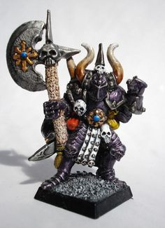 warhammer quest photo: Chaos Knight Front ChaosWarriorFront_zps5f11113b.jpg