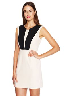 ESLEY Sleeveless Dress with Front Panels$49.99