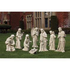 9-piece Outdoor Nativity Set