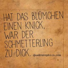 #Quadrasophics #Übergewicht #Schmetterling (Cool Quotes)