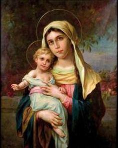 Hans Zatska (Austrian) - Virgin Mary With Jesus