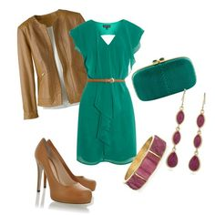 polyvore green | Twelve by Six: Happy Early St. Patty's!