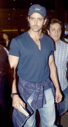 Hrithik Roshan spotted at Mumbai airport while returning from #IIFAAwards2015 held in Malaysia. #Bollywood #Fashion #Style #Handsome