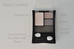 Smokey Eyeshadow Tutorial with Maybelline Expert Wear Eyeshadow Quad in Mocha Motion | The Small Things Blog