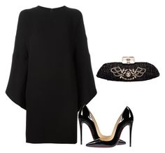 """Untitled #6473"" by tailichuns on Polyvore featuring Valentino, Christian Louboutin and Chanel"