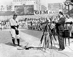 Lou Gehrig's Farewell Speech.