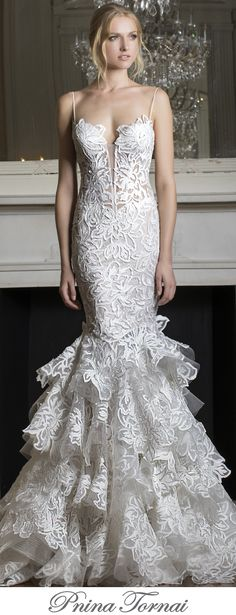With millions of adoring fans on a global scale, Pnina Tornai wedding gowns 2017 Dimensions Collections will once again take the bridal world by storm.