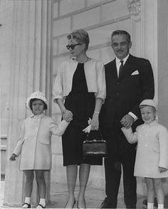 The Grimaldis of Monaco - Princess' Grace and Caroline and Princes' Ranier and Albert