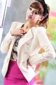 Fashion Slim Short Thin Suit