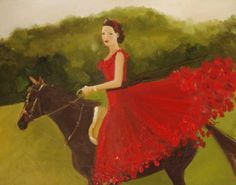 The Huntress Small Giclee Print by janethillstudio on Etsy