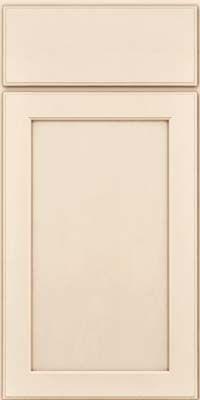 Square Recessed Panel - (AC9M) Maple in Canvas w/Cocoa Glaze - Base
