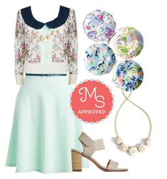 """Work to Play Dress"" by modcloth ❤ liked on Polyvore"