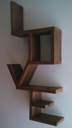 Wooden Shelves On Pinterest Shelves Shelves For Walls
