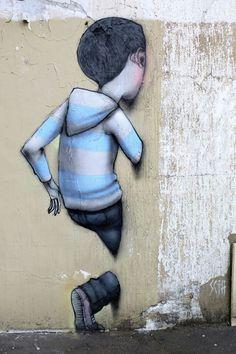 Seth - street art - Paris 5 - rue st jacques
