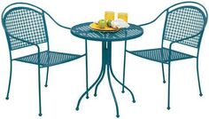 $129 Palm Desert Bistro Set  Enjoy Casual Outdoor Seating with This Handy Bistro Set