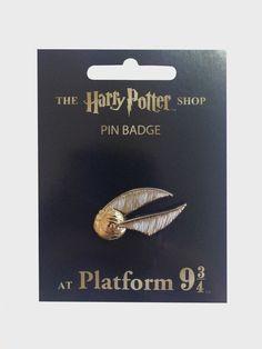 Golden Snitch Pin Badge | The Harry Potter Shop at Platform 9 3/4