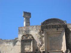 Otra foto del Reloj Solar en la Catedral de Cajamarca, Perú.