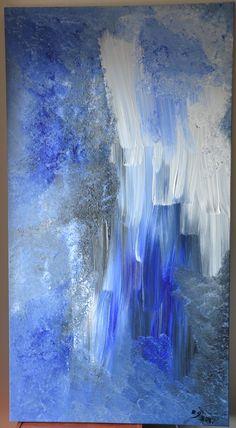 Deep Acrylic on canvas 150cm x 80cm