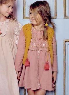 Louise Misha Dress Kaja in Rusty