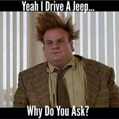 Jeep hair, don't care, lol