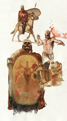Gallic Warrior - Philippe Payet