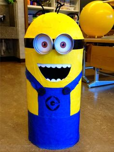 Minion Costume DIY! No Sewing and I did it with my 2nd Graders! :)