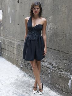 DIY LBD - The Wrap Mini Dress #dress #diy #clothing