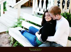 Old Town Spring Engagement Photography
