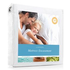 LINENSPA Zippered Encasement Waterproof, Dust Mite Proof, Bed Bug Proof Breathable Mattress Protector - Full Size * Shouldn't you at least take a look at it? Twin Xl Mattress, Queen Mattress, Best Mattress, Mattress Pad, Mattress Covers, Mattress Protector, Latex Mattress, Mattress Stains, Pillow Mattress