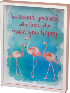 Flamingo Wall Sign