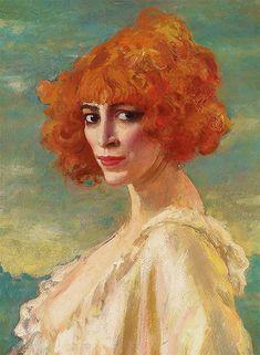 The Marchesa Casati (1919) - Augustus Edwin John