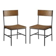 $100 each Carolina Cottage Berkshire http://www.kohls.com/product/prd-1670544/carolina-cottage-berkshire-2-pc-dining-chair-set.jsp