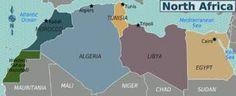 Resultado de imagem para norte da África