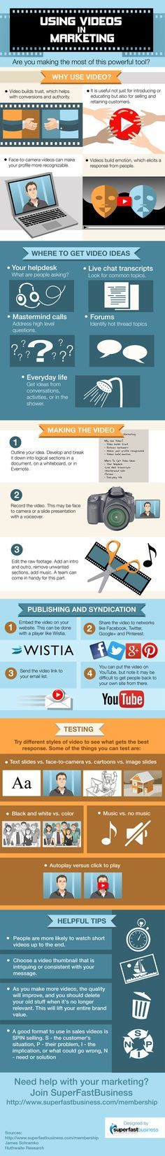 Using Videos In Marketing:One viral video can change the course of any company regardless of size and the product it sells. .... Increase Conversions Significantly by Using Youtube Cards In Your Videos. See Example Here: https://www.youtube.com/watch?v=9OUY47q62Z8