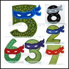 TMNT Teenage Mutant Ninja Turtles Shirt Birthday by SweetSouthernB, $22.00