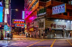 HKStreet by Gije Cho on 500px