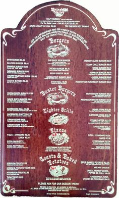 Old Spur menu Old Advertisements, Menu, Pure Products, Menu Board Design, Old Ads