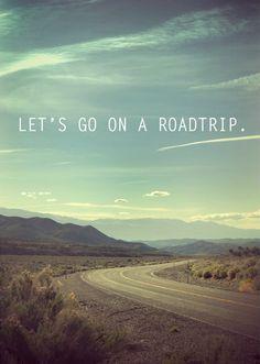 Let's go on a roadtrip