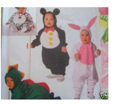 B Pattern 3050 TODDLER S-XL BUNNY MOUSE DRAGON