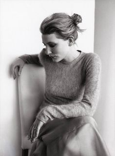 Cate Blanchett by Mark Liddell. ☚