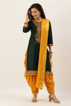 Green Silk Embroidered Unstitched Straight Suit Latest Salwar Suits, Latest Salwar Suit Designs, Salwar Suits Online, Salwar Kameez Online, Indian Salwar Suit, Patiala Suit, Pakistani Suits, Suits Online Shopping, Suit Shop
