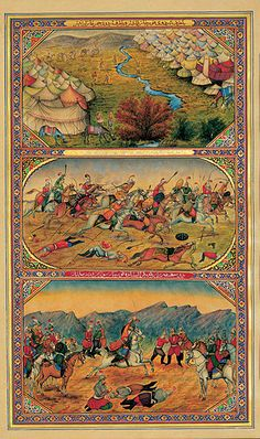 """Sani-al-Mulk s illustrations for """"One thousand and One nights"""" (c.  Sani-al-Mulk is considered the first teacher of European style of painting  in Iran. e435ee4d7"""